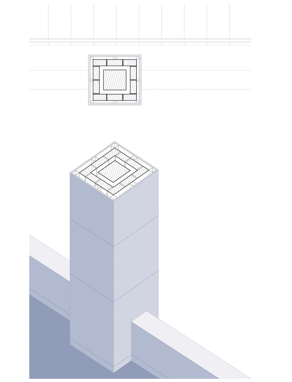 Detail 5, column h2o architectes}
