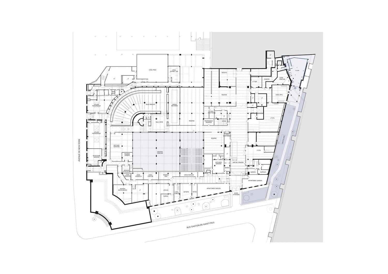 Plan level 1 h2o architectes}
