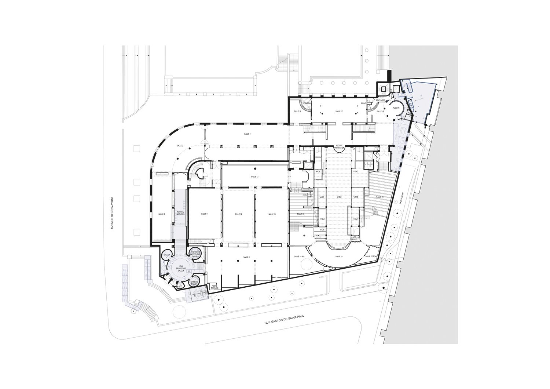 Plan level 2 h2o architectes}