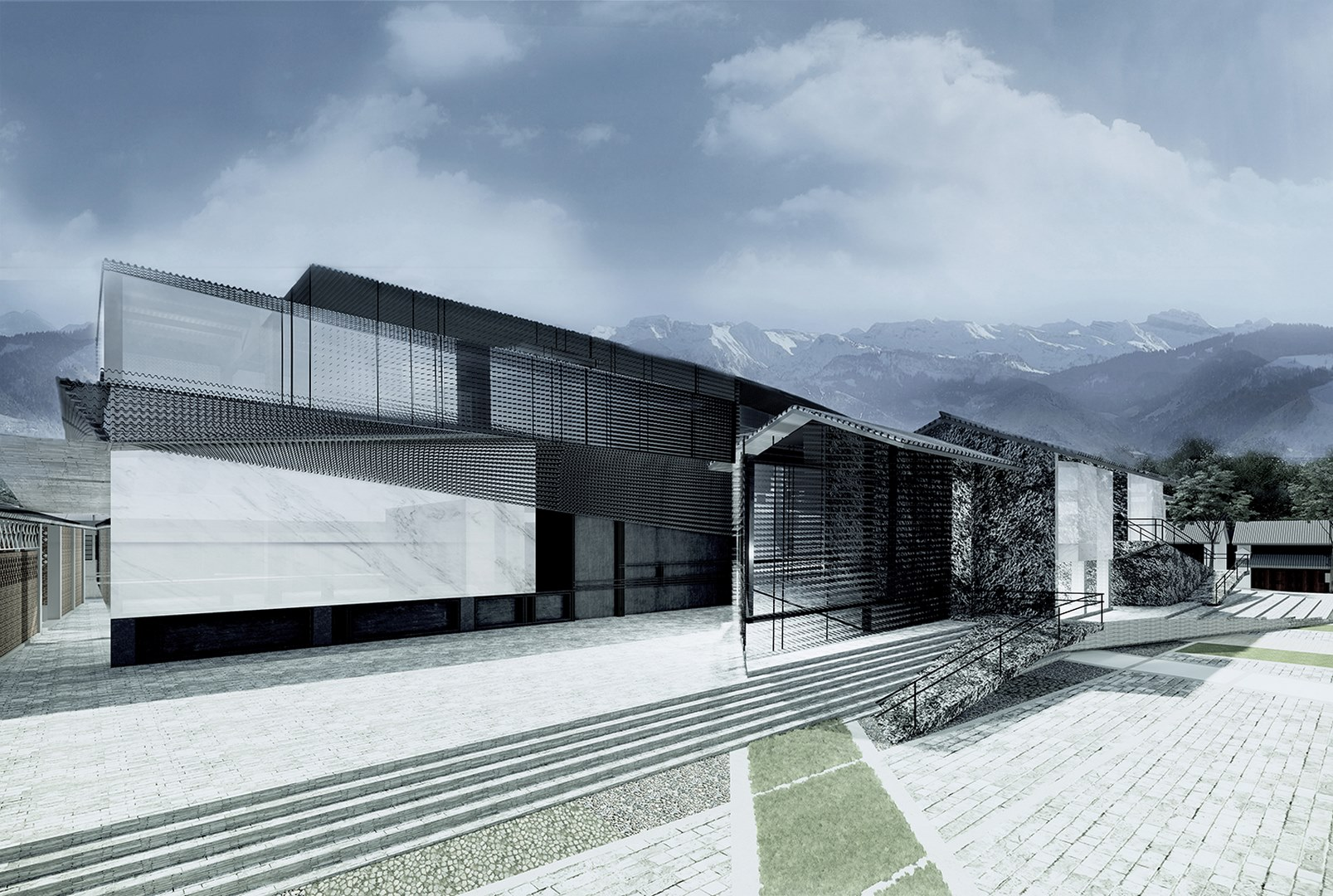 Dali Transformer Park and Booking Office Atelier Alter Architects