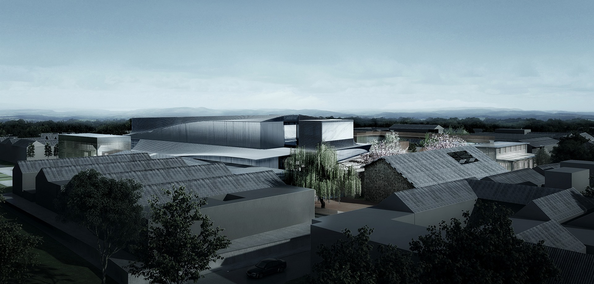 Dali Transformer Park Theatrical District Atelier Alter Architects
