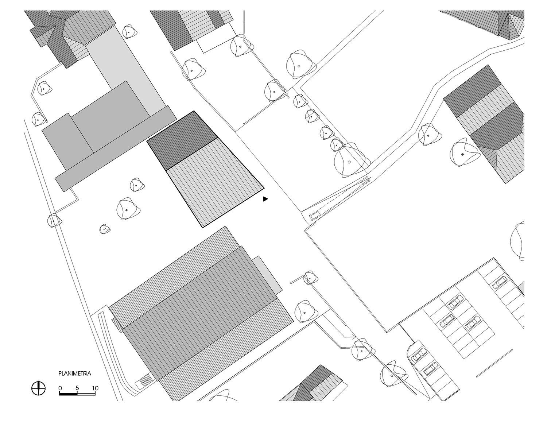 Planimetria Roland Baldi architects}