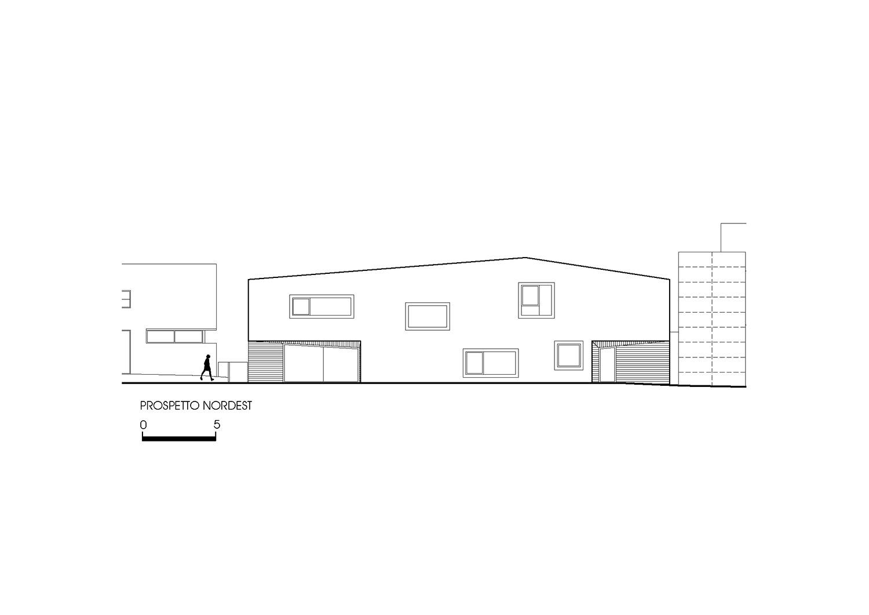 Prospetto Nordest Roland Baldi architects}