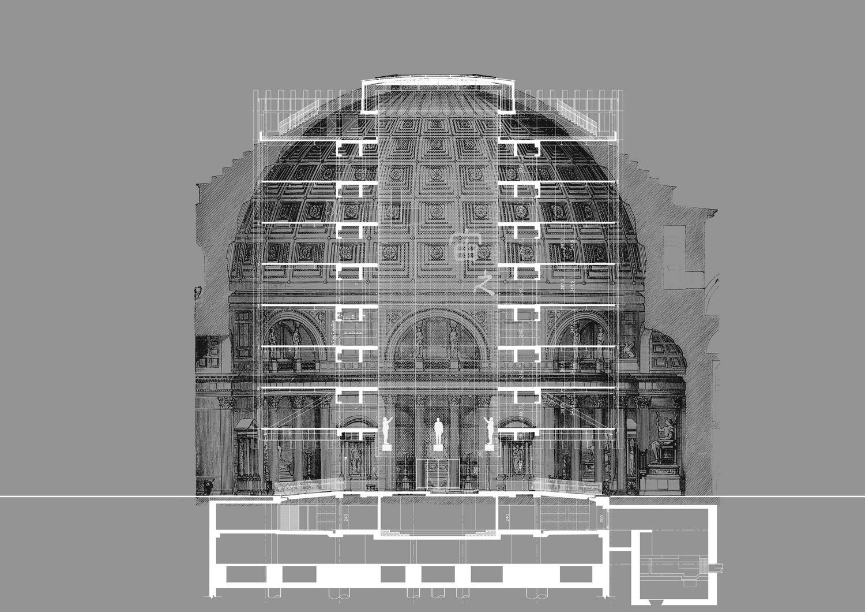 Building Section Concept KRIS YAO | ARTECH}