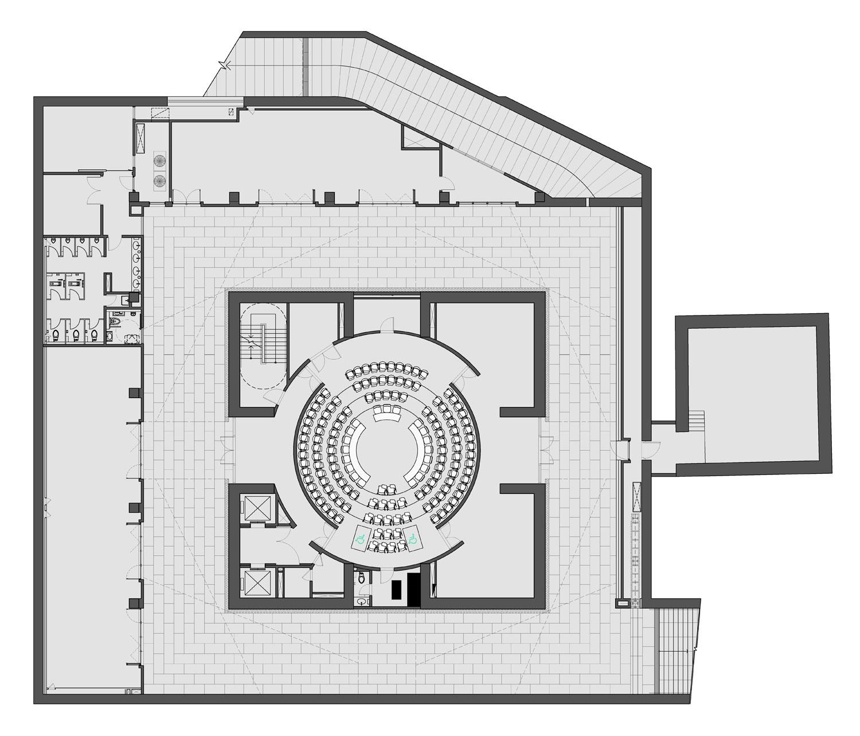 Basement Floor Plan KRIS YAO | ARTECH}