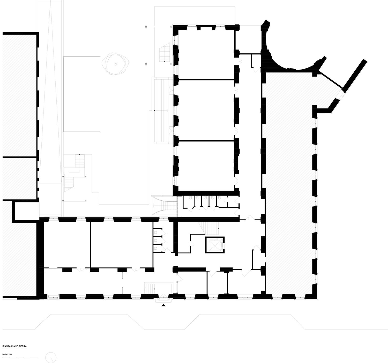 piano terra (esistente) Archisbang + Area progetti}