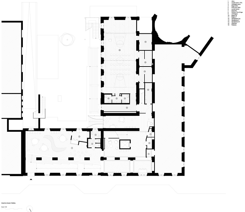 piano terra (progetto) Archisbang + Area progetti}