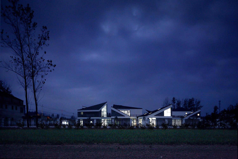 view of kindergarten at dusk Mini LIU