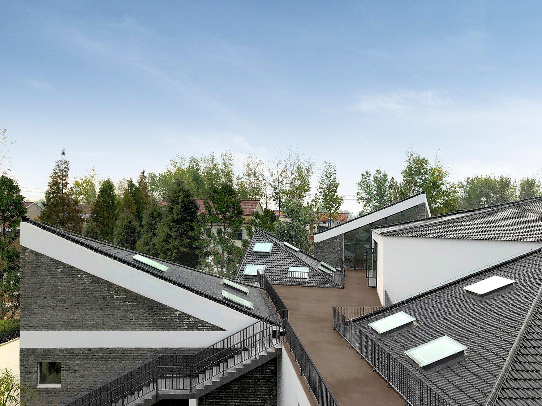 kindergarten roof with skylights HAO Hongyi