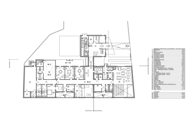 Ground floor Rechner Architects}