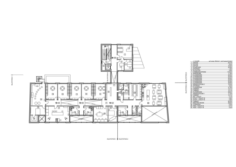 1 Floor Rechner Architects}