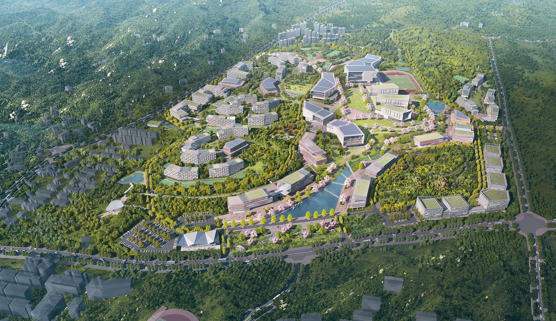 Xinyang University Masterplan SASAKI