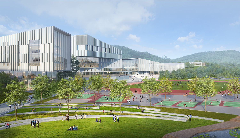 Campus Recreation Center and Field SASAKI