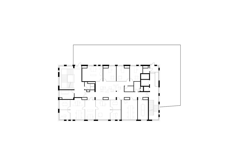 Third floor Berger+Parkkinen Architekten}