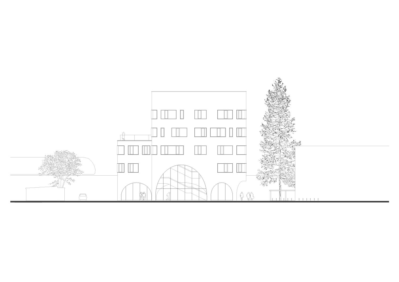 North elevation Berger+Parkkinen Architekten}