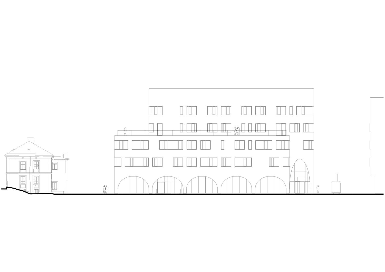 East elevation Berger+Parkkinen Architekten}