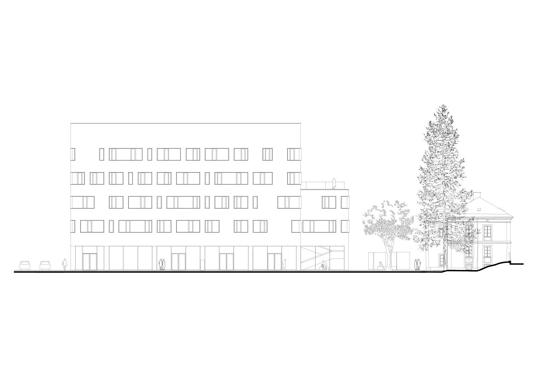 South elevation Berger+Parkkinen Architekten}