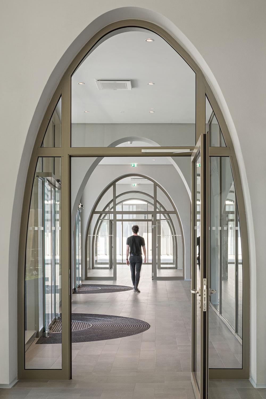 Entrance area Hertha Hurnaus │ Berger+Parkkinen Architekten