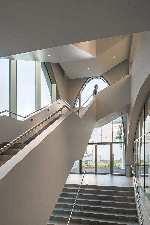 Main stairway Hertha Hurnaus │ Berger+Parkkinen Architekten