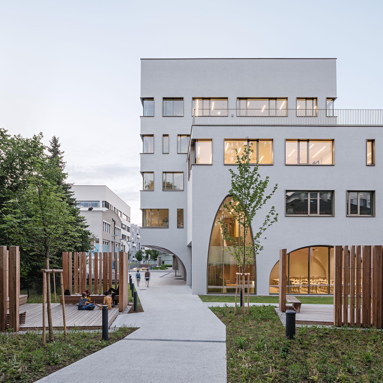 South elevation Hertha Hurnaus │ Berger+Parkkinen Architekten