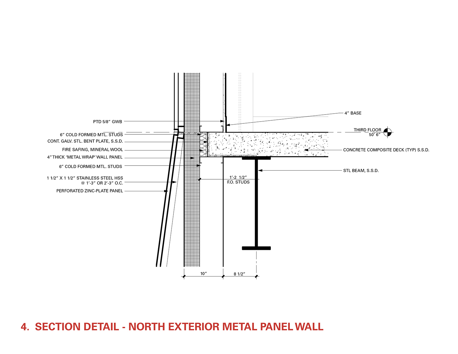 Section Detail - Curtain Wall Head Leers Weinzapfel Associates}
