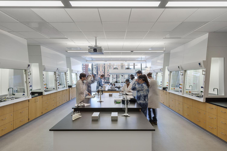 Upper Floor Teaching Laboratories Accommodate Variety of Engineering Programs Albert Vecerka
