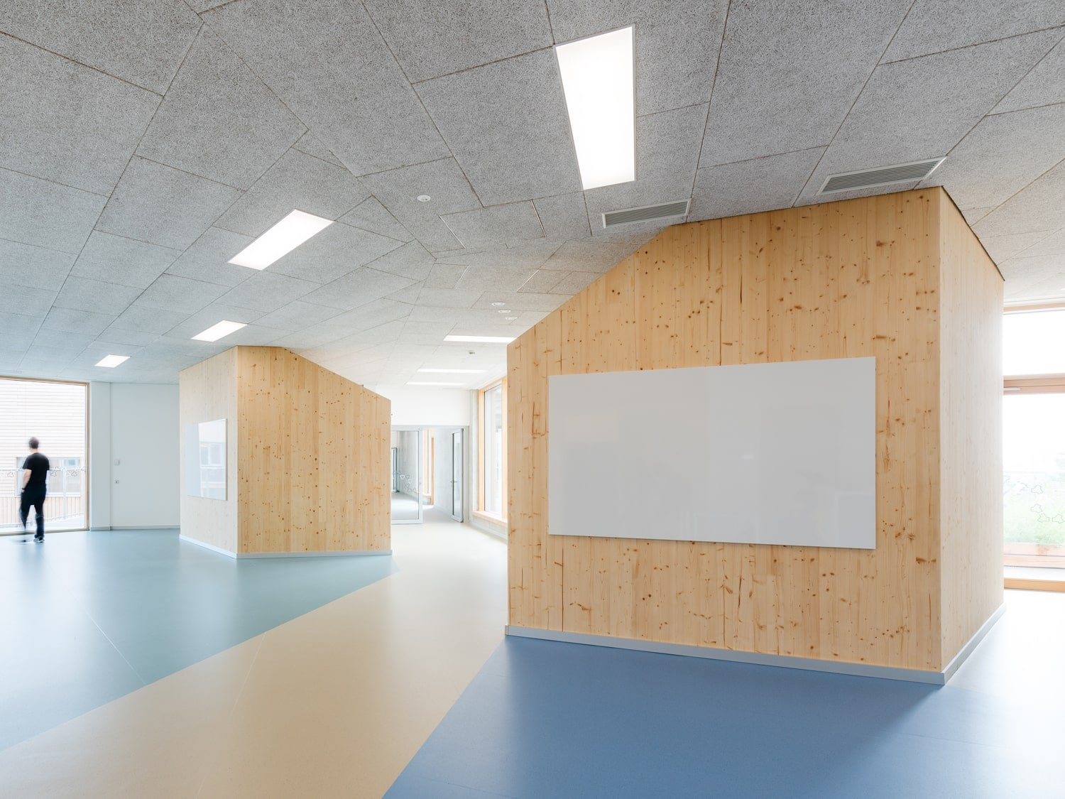 Common Learning Areas Cloakroam Boxes Lukas Schaller