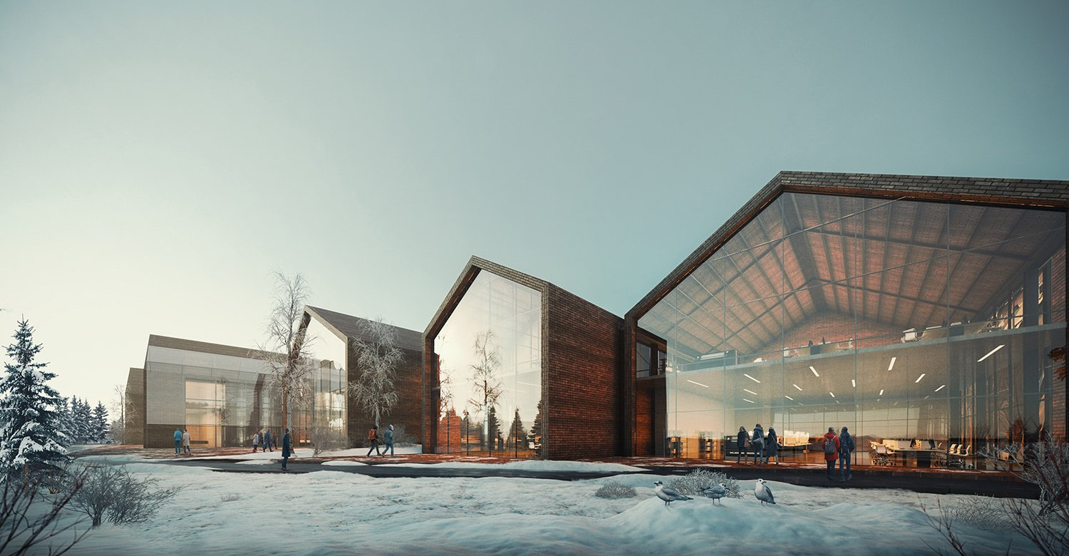 Gazi University Laboratories rendering ivabox