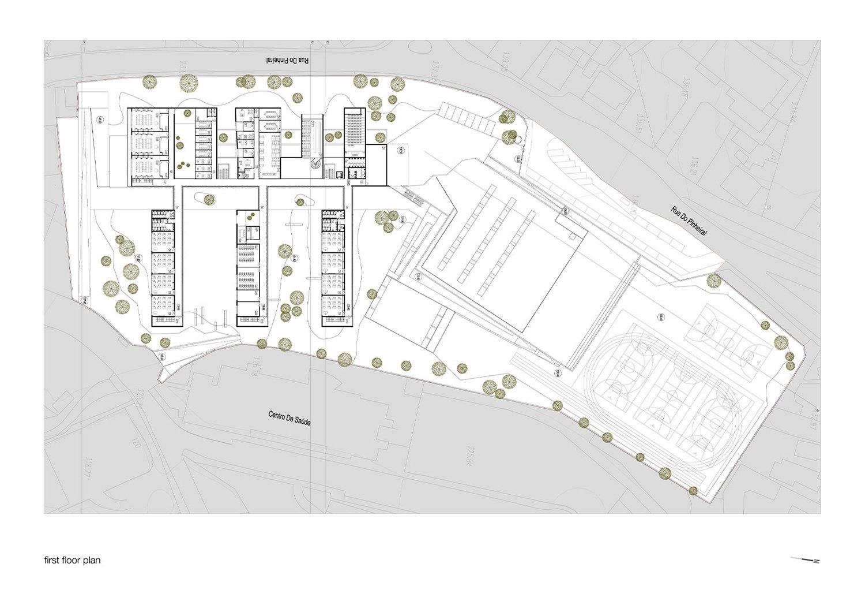 First Floor Plan Pitágoras Group}