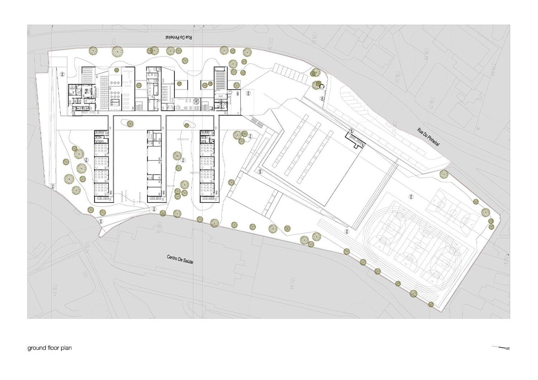 Ground Floor Plan Pitágoras Group}