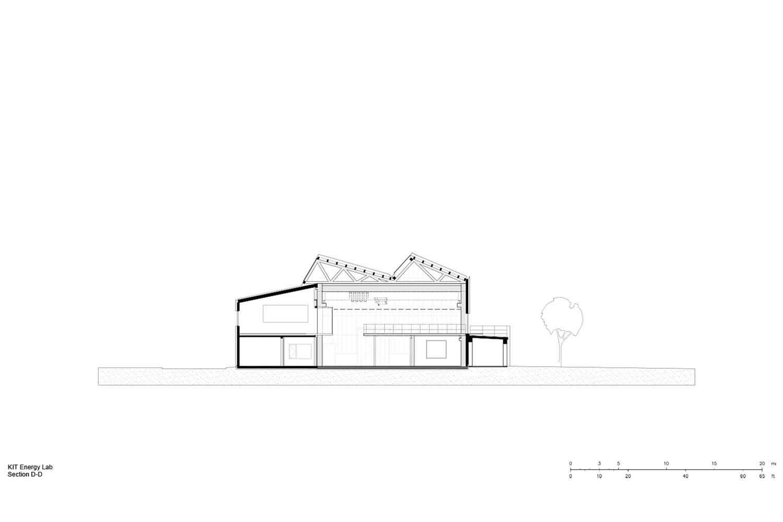 Section D-D Behnisch Architekten}