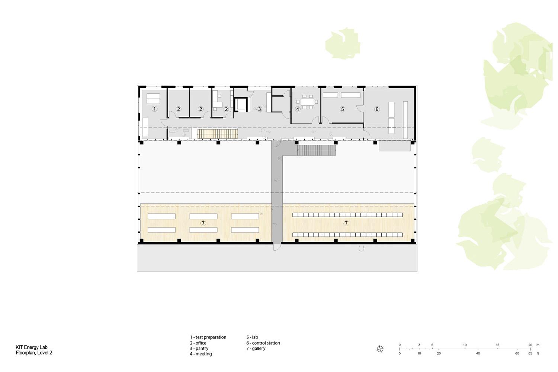 Floorplan, Level 2 Behnisch Architekten}