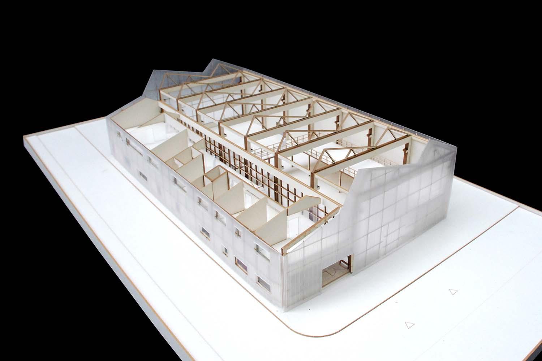 Model Behnisch Architekten}