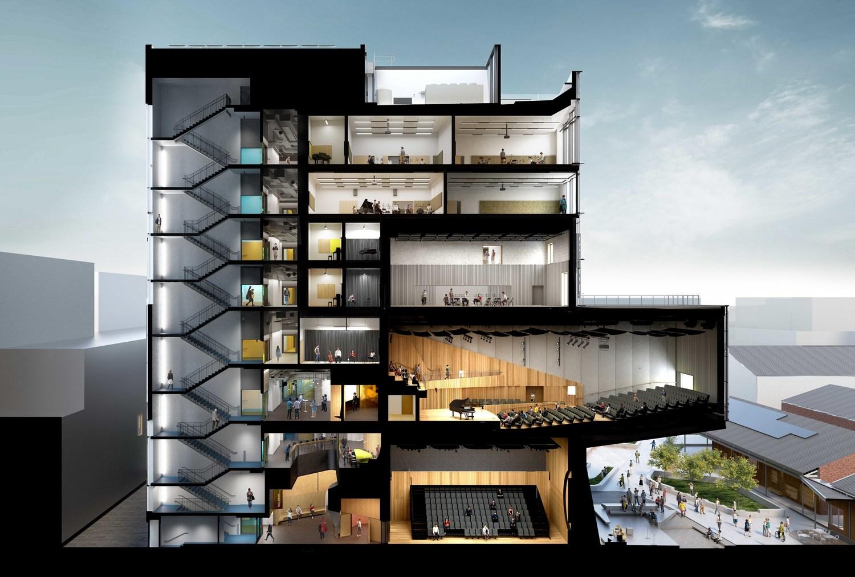 Section John Wardle Architects}
