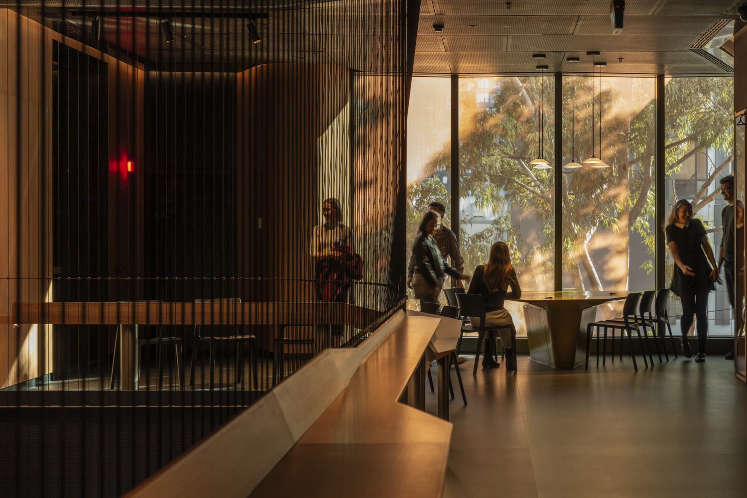 Student hub designed for casual and formal study Trevor Mein