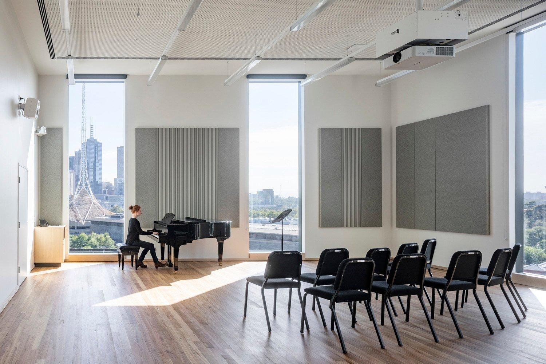 Rehearsal studio with city views Trevor Mein