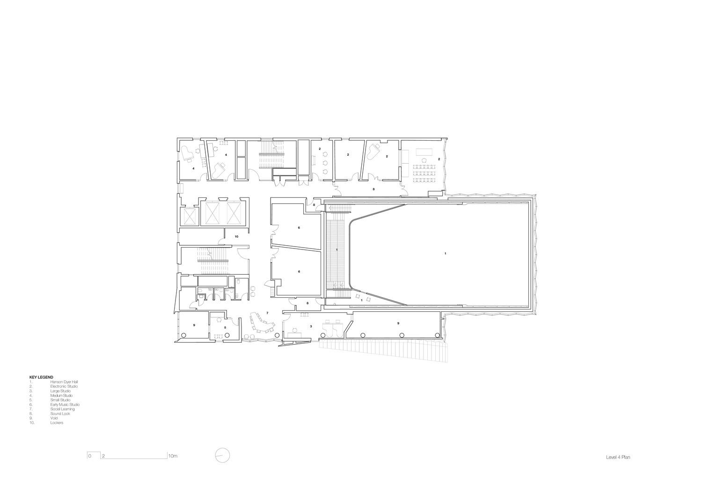 Level 4 plan John Wardle Architects}