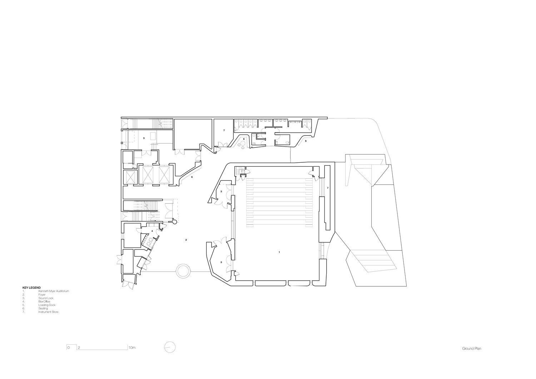 Ground floor plan John Wardle Architects}