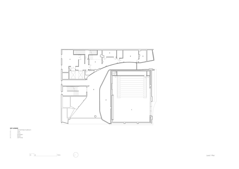 Level 1 plan John Wardle Architects}