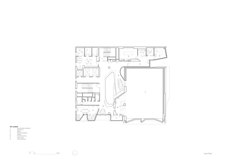 Level 2 plan John Wardle Architects}