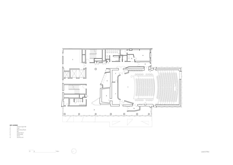 Level 3 plan John Wardle Architects}