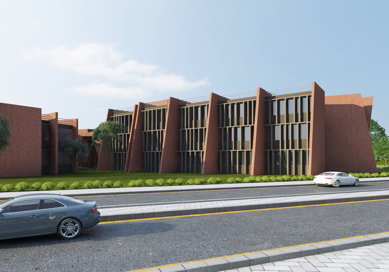 3d Render - West Side Sanjay Puri Architects}