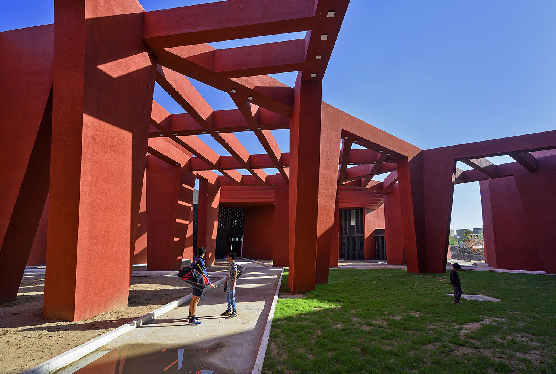 Central Courtyard Dinesh Mehta