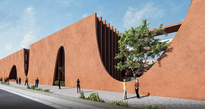 Ventilation Cut-Out Sanjay Puri Architects