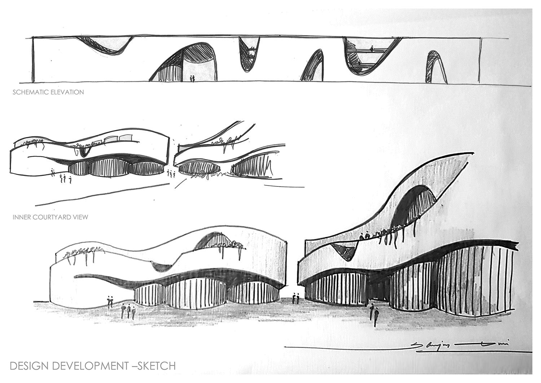 design sketches SANJAY PURI ARCHITECTS}