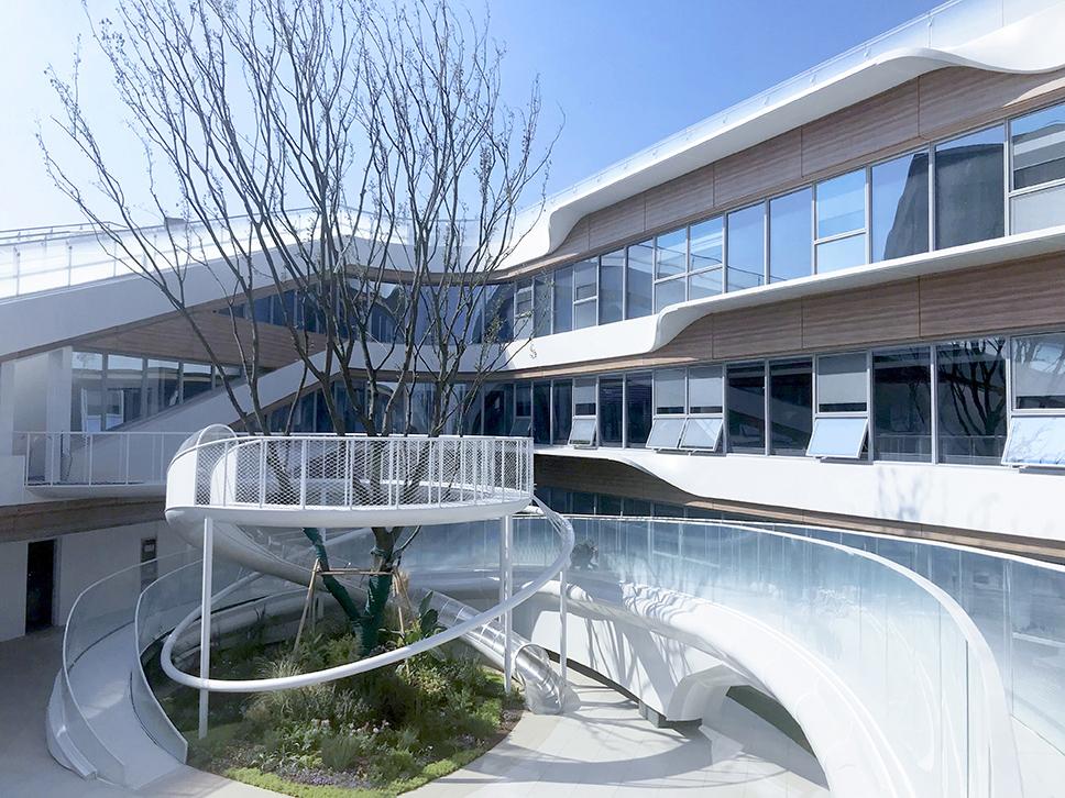 CIFI Donut Kindergarten Flying Corridor& Slide Songkai Liu