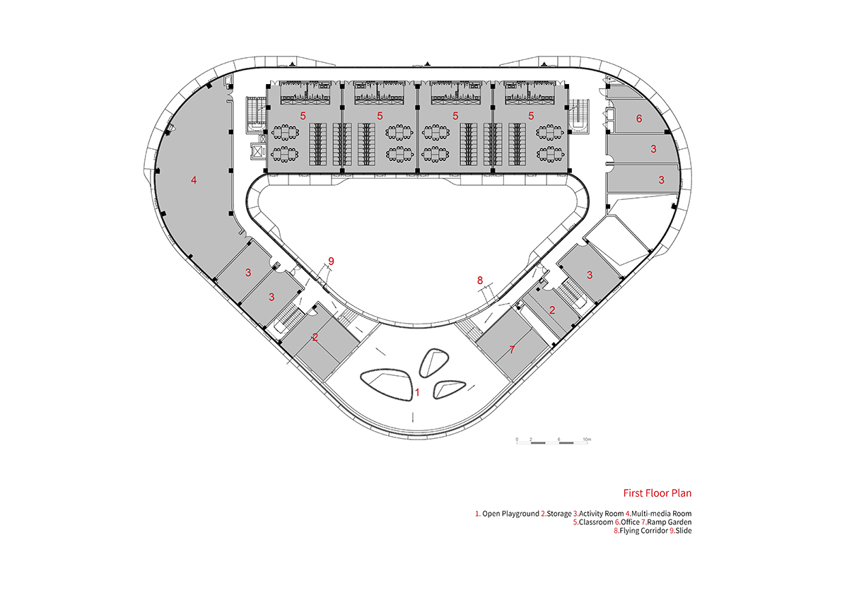Drawings -  3. Second Floor Plan THDL}