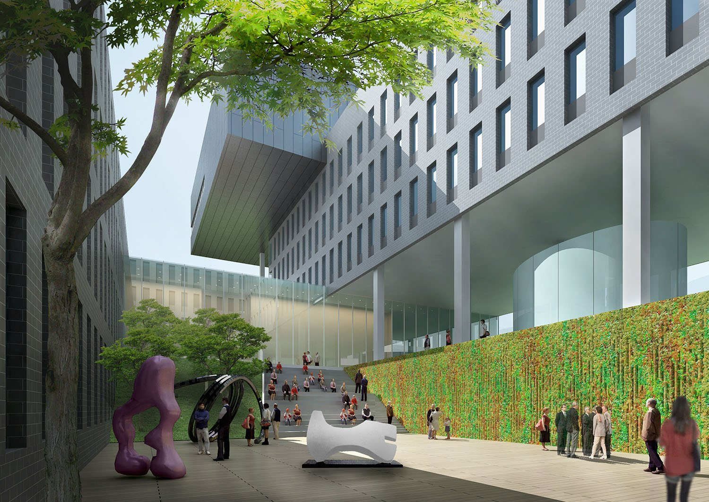 Internal Courtyard (North) Rocco Design Architects Associates}