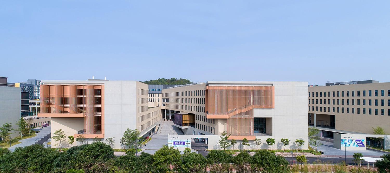 Teaching Block of Faculty Building Chao Zhang