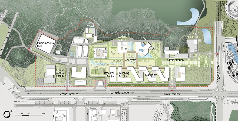Master Layout Plan Rocco Design Architects Associates}
